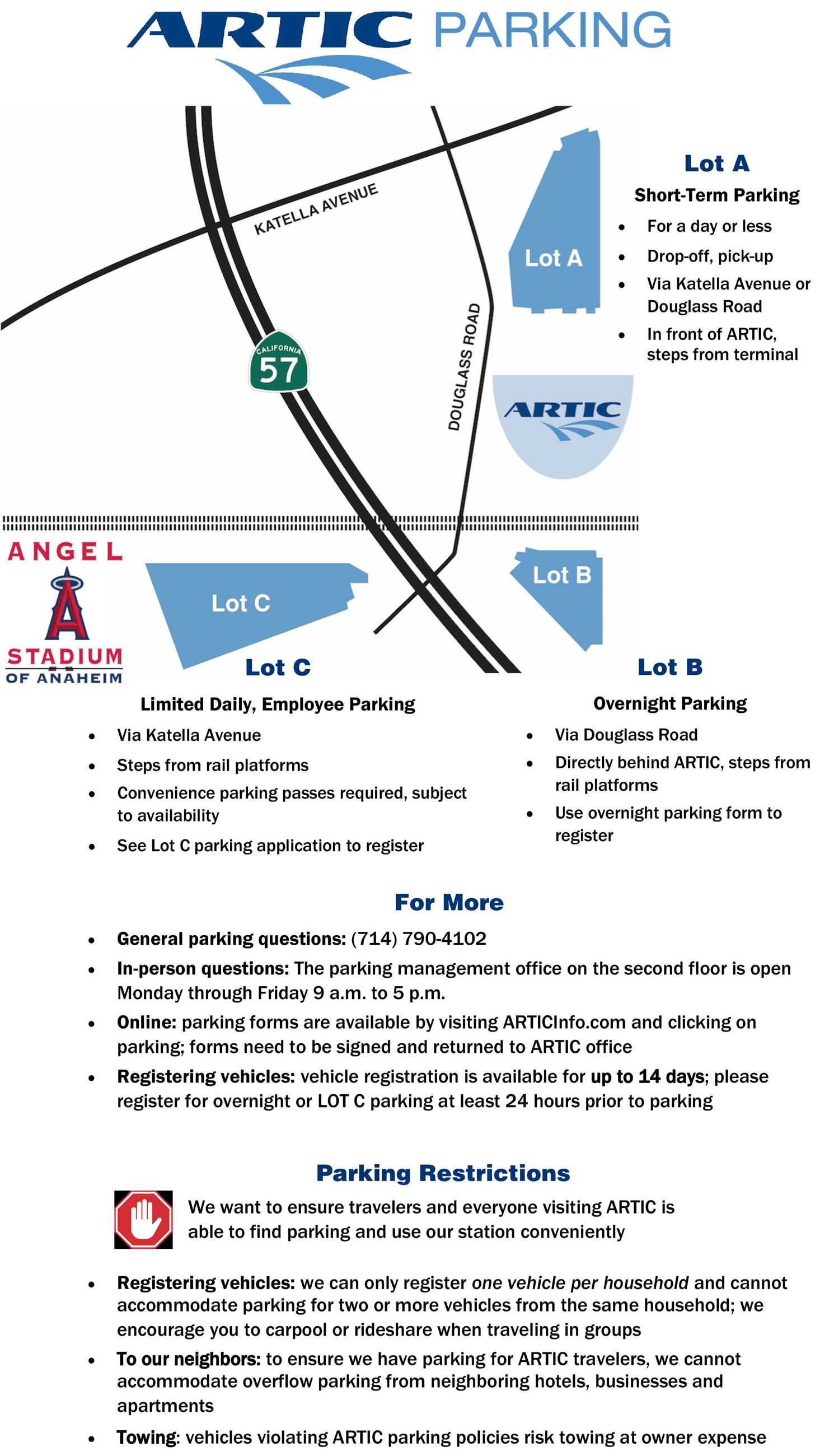 Parking info and map 1-24-20