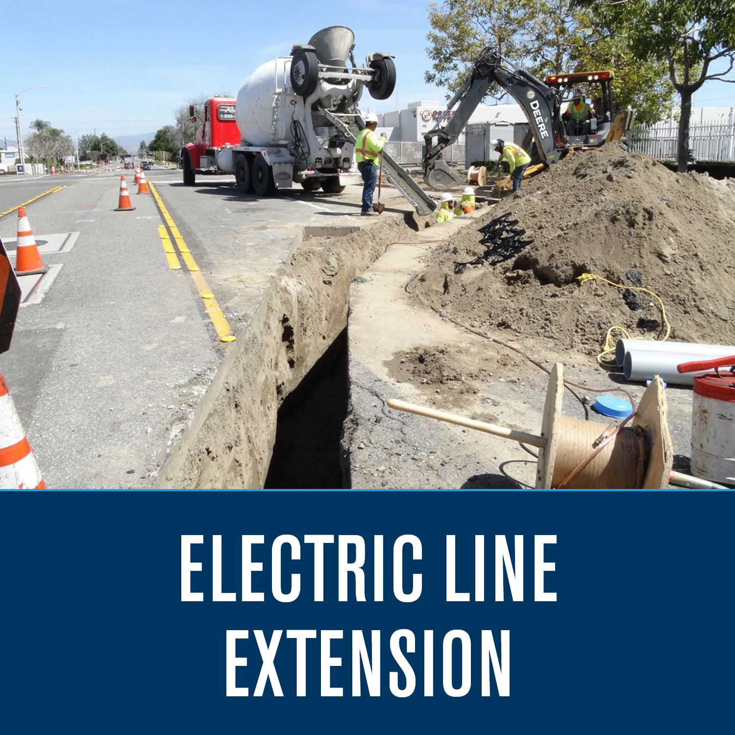 Electric Line Extension