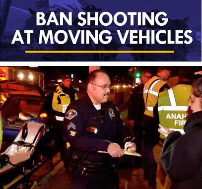 Ban Shooting at Moving Vehicles