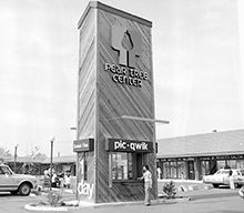 Peartree Center Opening 1976